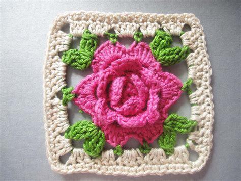 youtube a pattern of roses роза в квадрате rose squared crochet youtube