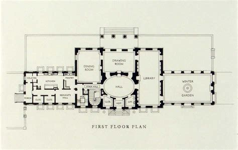 Georgian Mansion Floor Plans | georgian mansion house plans quotes