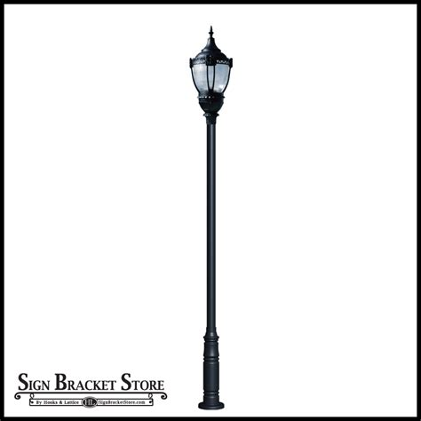 sky post light fixtures sky post mount light 120v single arm