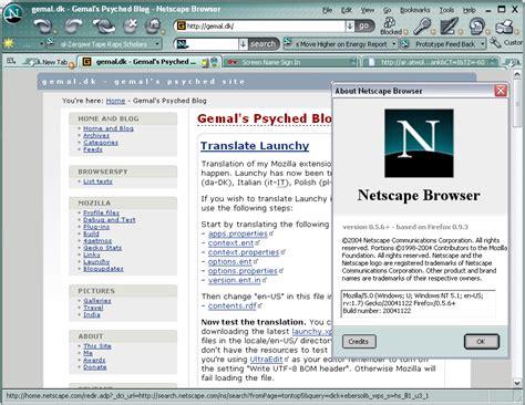 aol netscape aol releases netscape beta based on firefox slashdot