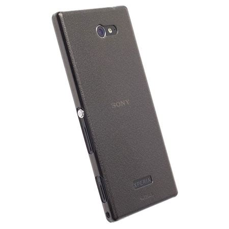 Casing Krusell For Sony Xperia M krusell frostcover sony xperia m2 transparent black
