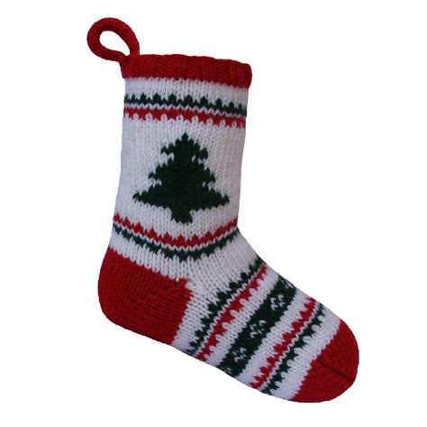 knit stocking pattern christmas easy free christmas stocking by knitables craftsy