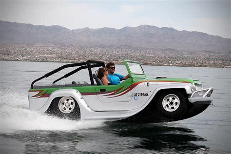 boat car jeep hibious cars and trucks mark traffic