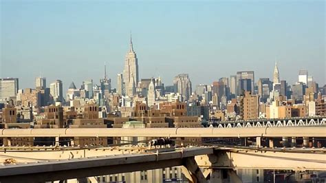 From Manhattan With views of manhattan from the bridge new york city