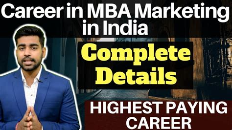 Marketing Mba India by What Is Mba Marketing Career In Mba Marketing In India