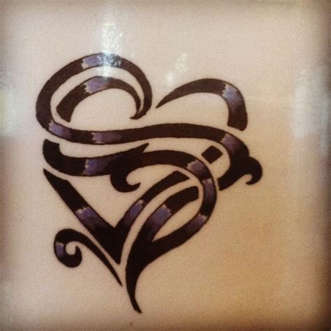 62 best heart tattoo cover up a letter images on pinterest