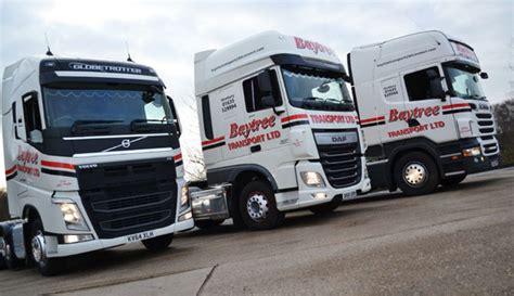 current fleet of trucks baytree transport ltd