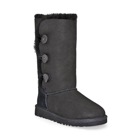 Ugg Bailey Button by Ugg Bailey Button Triplet Boot Pre Grade Schoolkids