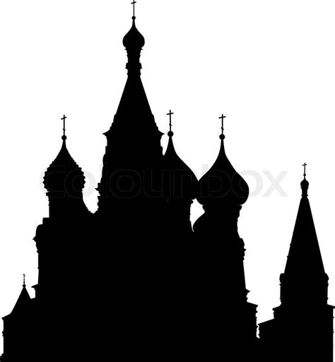 Square Home Plans Basil S Cathedral Silhouette On Red Square Moscow Russia