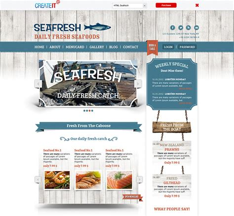 bootstrap templates for restaurant 25 best responsive restaurant website templates wakaboom