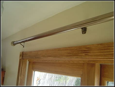 sliding door curtain rods outdoor patio curtain ideas patios home decorating