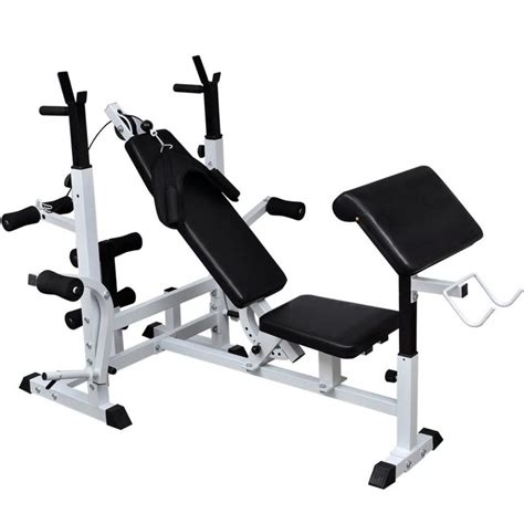 how to use a weight bench multi use weight bench vidaxl com