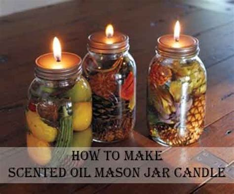 how to scent a how to make scented jar candle