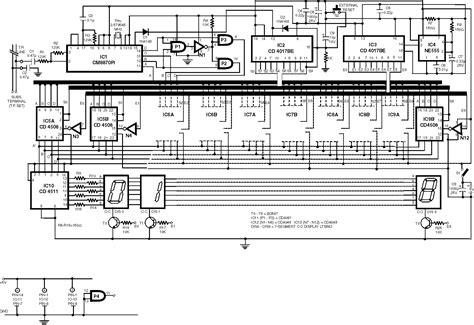 telephone circuit diagram gt telephone gt telephone circuits gt telephone dtmf decoder