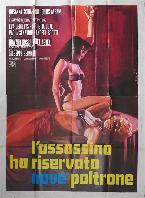 l assassino ha riservato nove poltrone 25 best locandine italia giallo noir horror images on