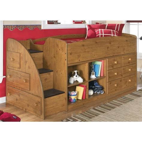 Stages Loft Bed by B233 68b Furniture Stages Loft Caster Bed