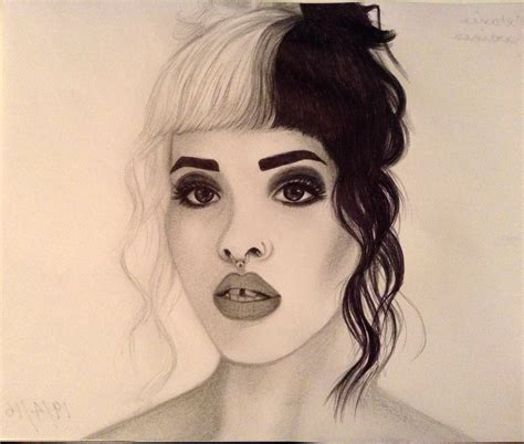 Drawing Melanie Martinez melanie martinez by naiengele on deviantart