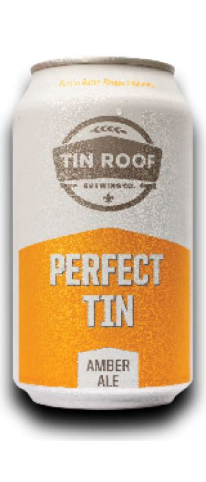 tin roof ale abv tin roof brewing company tin ale just