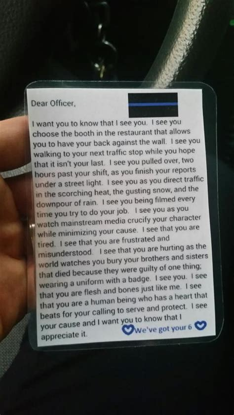 Dear Officer by 25 Best Officer Quotes On