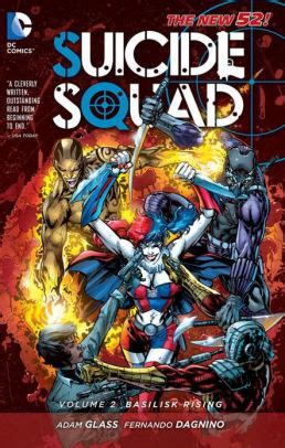 Squad Tp Vol 2 Basilisk Rising Isbn 9781401238445 squad vol 2 basilisk rising the new 52 by adam