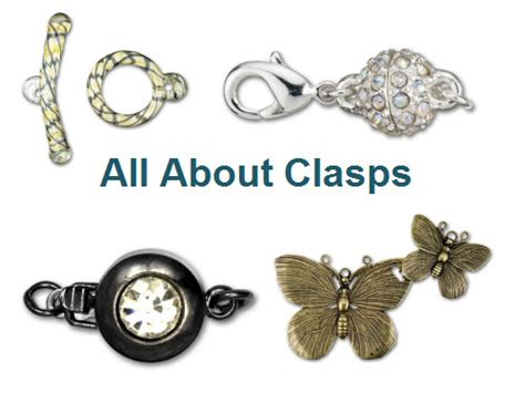 how to use clasps jewelry all about clasps artbeads