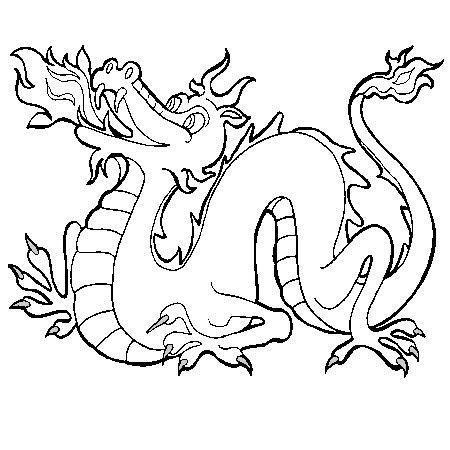 Les 25 Meilleures Id 233 Es De La Cat 233 Gorie Dragon De Feu Sur Fr Coloriages Serpent De Mer L