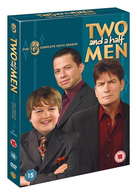 Two Season6 two and a half season 6 4 discs dvd c 15