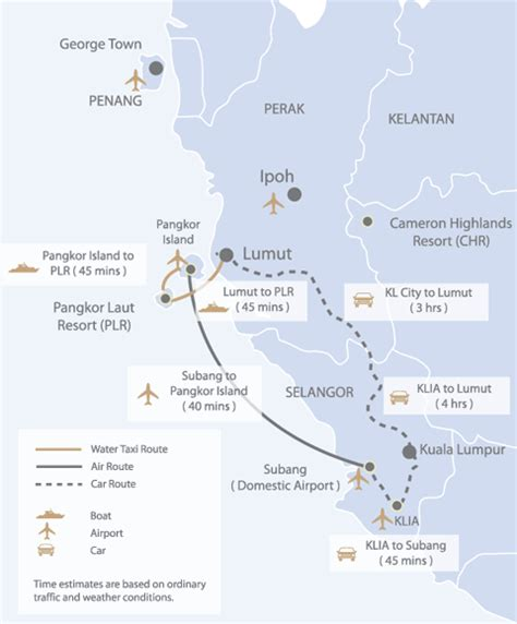 pangkor island resort map pangkor laut resort pangkor island malaysia free n
