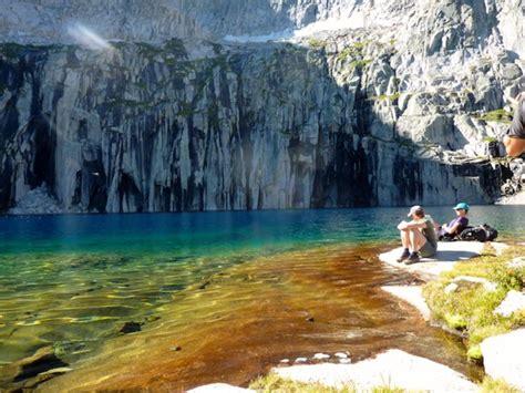 precipice lake sequoiakings canyon california travel