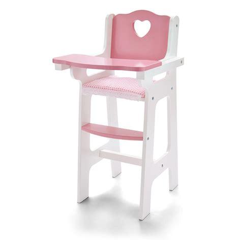 wooden doll chair molly dolly my dolls wooden high chair feeding doll