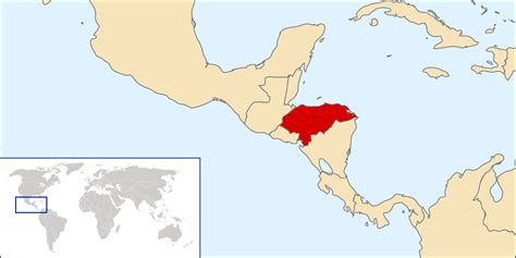 honduras world map honduras location map location map of honduras vidiani
