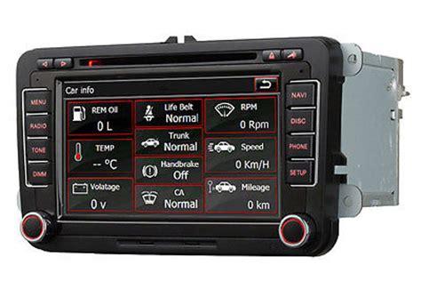 Navi Mit Radio F R Motorrad by F 252 R Vw Touran Passat Leon Navi Dvd Autoradio Gps Bluetooth