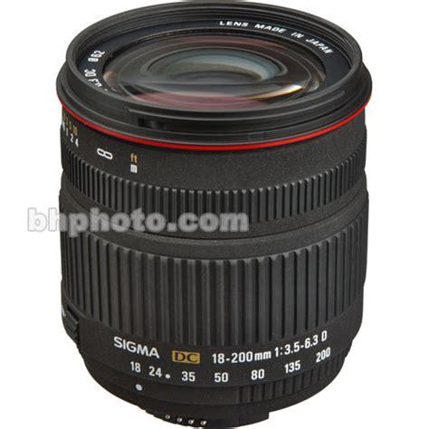 Sigma Lensa 18 200mm F 3 5 6 3 Dc Macro Os Hsm C For Nikon sigma 18 200mm f 3 5 6 3 dc lens for nikon digital slr 777306