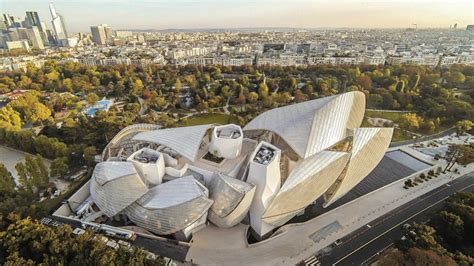 Fondation Vuitton by Gehry Frank Louis Vuitton Foundation Architecture