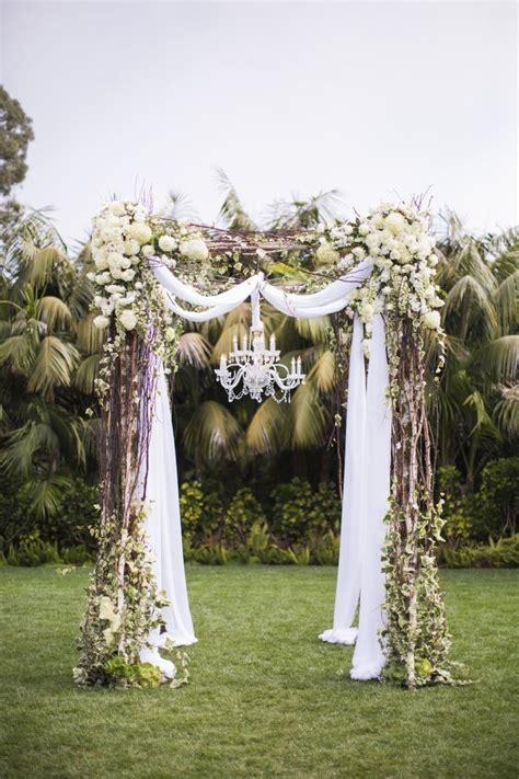 draped wedding arch fabric draped wedding arch