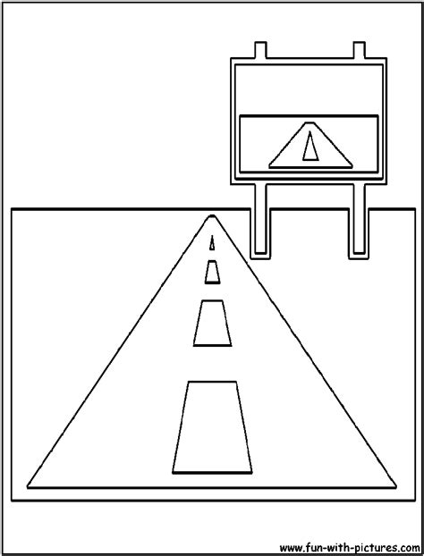 Coloring Page Road by Free Coloring Pages Of Road Safety For Children