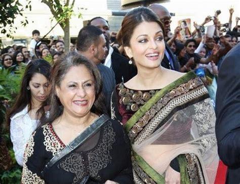 aishwarya rai jaya bachchan is jaya bachchan angry with bahu aishwarya bollywood