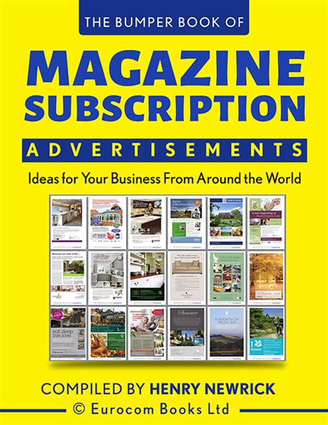 magazine subscription bumper books