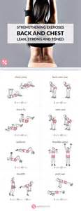 chest and back strengthening exercises chest workouts