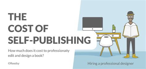 book layout cost infographic the costs of self publishing your book