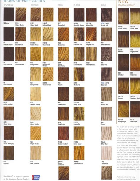 hair color charts hair and hairstyles looking for hair color ideas look at