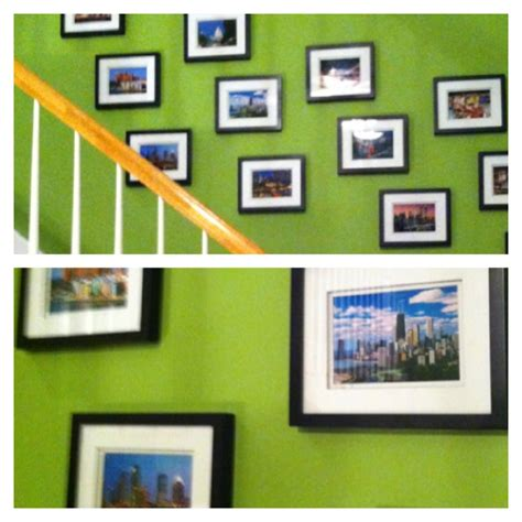 art on walls home decorating best 25 stairway wall decorating ideas on pinterest