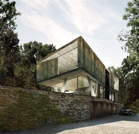 querkopf architekten villa im wald hamburg