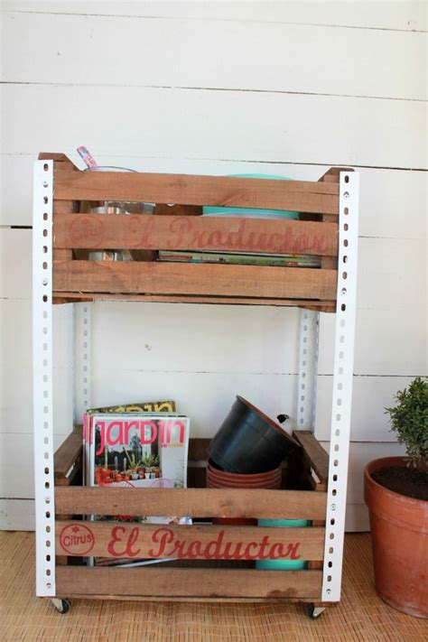 cajones de madera para frutas