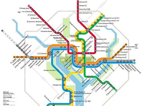 washington dc rail map navigating washington dc with metro washington org