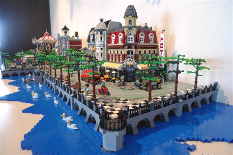 Tips For Building A New Home brick town talk town by the lake lego town