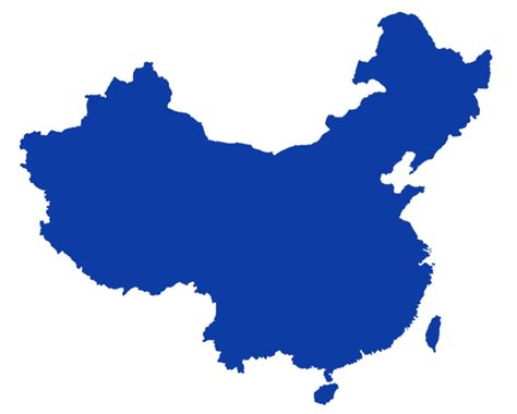 china map vector file china outline png
