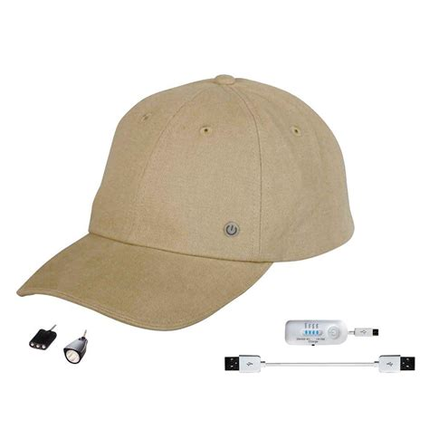 Rechargeable Hat Lights power gear rechargeable hat with attachable led light pgh93436 the home depot