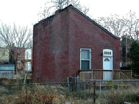 flounder house st louis survey finds dozens of historic triangular