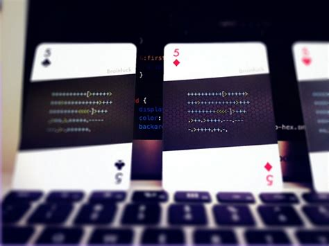 Gift Card Programmer - code deck playing cards